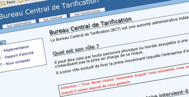 Bureau Central De Tarification Bct Assur Resilie